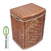 Плетеная корзина для белья 37х30х55 см
