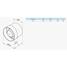Осьовий канальний вентилятор VENTS ВКО 150 298 м3/ч 24 Вт
