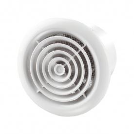 Осьовий вентилятор для витяжної вентиляції VENTS ПФ 125 185 м3/ч 16 Вт