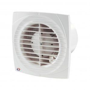 Осьовий вентилятор для витяжної вентиляції VENTS Д 100 турбо 124 м3/ч 16 Вт
