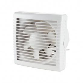 Осьовий віконний вентилятор VENTS МАО1 125 12 165 м3/ч 16 Вт