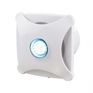 Осевой декоративный вентилятор VENTS Х стар 100 турбо 116 м3/ч 16 Вт