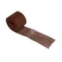 Вентиляционная лента свеса Terran 100х5000 мм коричневая