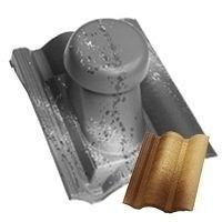 Круглий неутеплений вентиляційний елемент Terran Коппо 110 мм модена