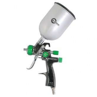 Краскопульт Intertool LVLP GREEN NEW PT-0131 600 мл (PT-0131)