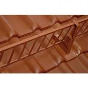 Снігозатримуючі сходи BRAAS 3000 мм коричневі