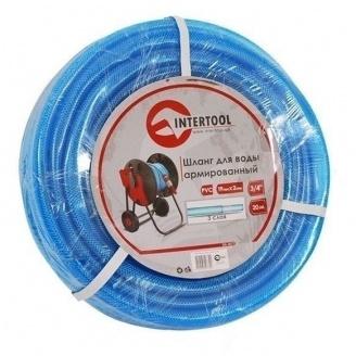 Шланг для воды Intertool 50 м армированный (GE-4056)