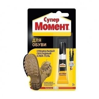 Клей Момент Супер для взуття 3 г (1541578)