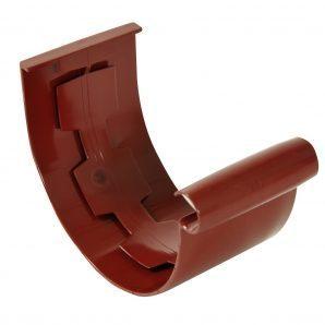 Муфта желоба Nicoll 25 ПРЕМИУМ 115 мм красный