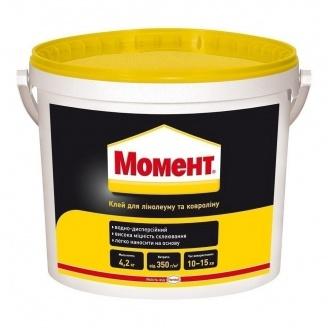 Клей Момент для лінолеуму і ковроліну 4,2 кг (1815463)