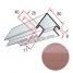 Кут зовнішній Альта-Профіль KANADA Плюс Преміум 3050 мм червоно-коричневий