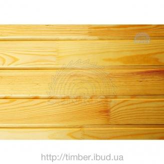 Євровагонка дерев'яна для зовнішніх робіт 15 мм