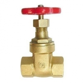 Засувка клинова HERZ-4113 BS з непід'ємним шпинделем DN 40 (1411305)