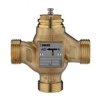 Трехходовой смесительно-распределительный клапан HERZ 4037 DN 15 (1403715)