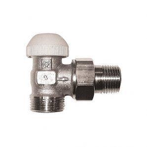 Термостатичний клапан HERZ TS-90 кутовий G 3/4