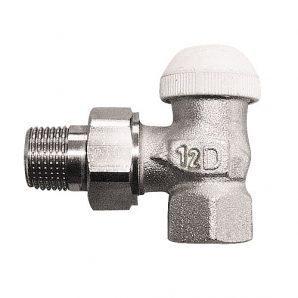 Термостатичний клапан HERZ TS-90-Kv кутовий 1/2 дюйма 0,12 м3/год (1771479)