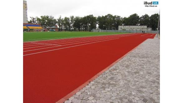 Спортивные покрытия беговых дорожек стадионов