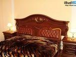 Ліжко двоспальне дерев'яне