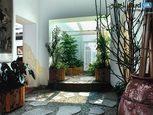 Японський зимовий сад в квартирі