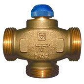 Термостатический клапан трехходовой HERZ CALIS-TS-RD 1 дюйм (1776140)
