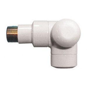 Термостатичний клапан HERZ DE LUXE TS-90 триосьовий CD Rp 1/2xR 1/2 чорний матовий (1795949)