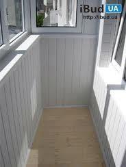Внутренняя обшивка балкона ПВХ вагонкой
