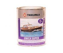 Износостойкий уретано-алкидный лак Tikkurila Unica Super kiiltava 2,7 л глянцевый