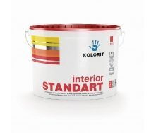 Краска интерьерная Kolorit Interior Standart матовая 10 л