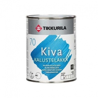Акрилатный лак для мебели Tikkurila Kiva kalustelakka kiiltava 0,225 л глянцевый