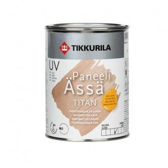 Акрилатный лак Tikkurila Paneeliassa titan 1 л полуматовый