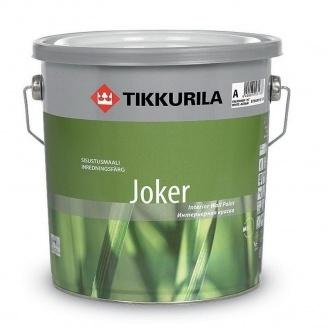 Краска акрилатная Tikkurila Joker матовая 9 л