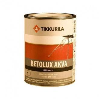 Полиуретано-акрилатная краска Tikkurila Betolux akva lattiamaali 9 л
