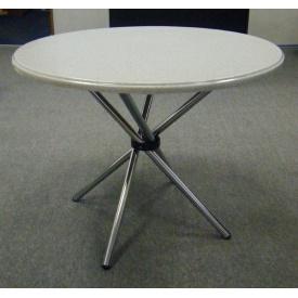 Круглий стіл з литого мармуру Snail 690 мм