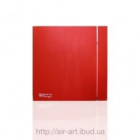 Вентилятор осьовий Silent 100 CZ Design Red безшумний