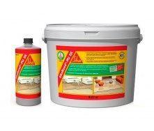 Клей для приклеивания деревянных покрытий Sika SikaBond-PU 2K 8,9 кг