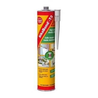 Эластичный полиуретановый высокопрочный клей Sika SikaBond-T2 300 мл