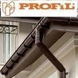 Водостічна система Profil з ПВХ система 130 мм
