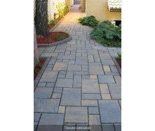 Тротуарна плитка Золотий Мандарин Пассіон 60 мм сіра