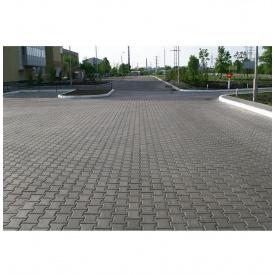 Тротуарна плитка Золотий Мандарин Подвійне Т 140х125х70 мм сіра