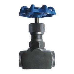 Вентиль запорный игольчатый стальной 15с54бк Ру 160 Ду 15