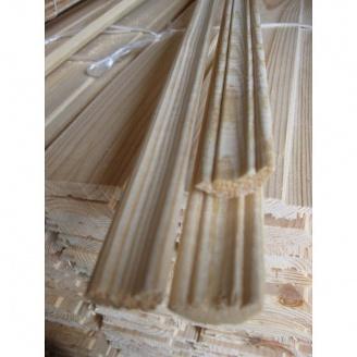 Плинтус потолочный сосновый