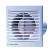 Осьовий вентилятор Вентс Домовент 125 СВ 16 Вт 180 м3/год