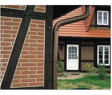 Устройство фасадов из натурального клинкера с утеплением фасада