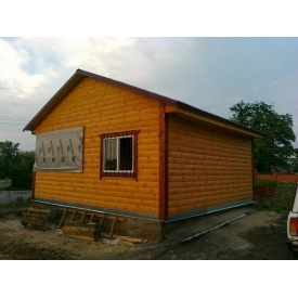 Дачный дерев'яний дом 6-6