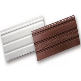 Софіт для підшивки покрівлі білий