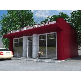 Строительство минимаркета