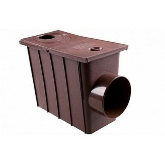 Колодец ливневой Profil 90/75 75 мм коричневый