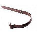 Держатель желоба металлический Profil 90/75 коричневый