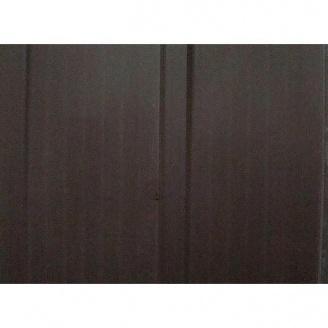Вагонка ПВХ 10 см темно-коричневая