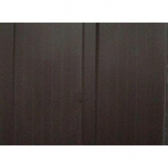 Вагонка ПВХ 10 см темно-коричнева